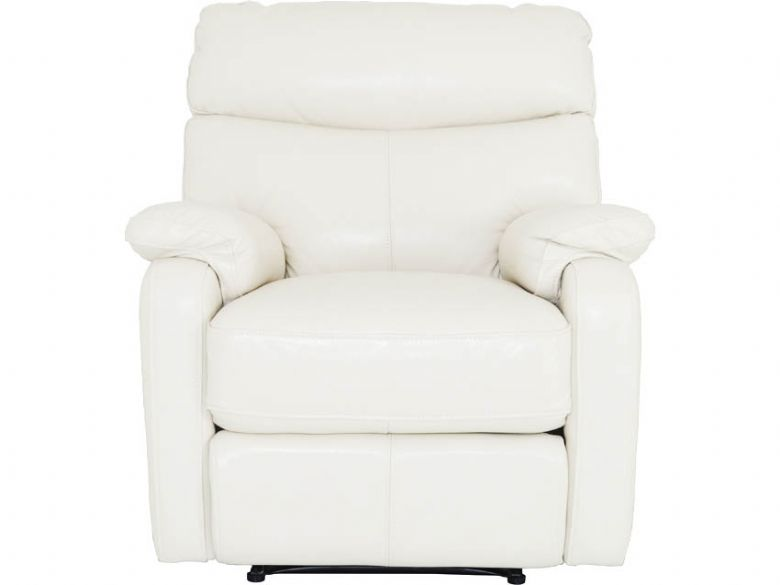 Leather Power Recliner Armchair