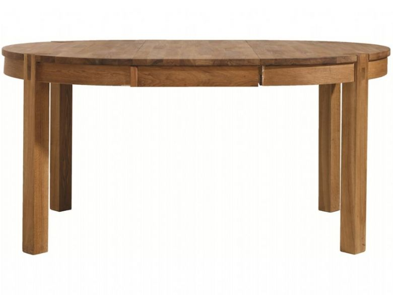 Oak Round Extending Table