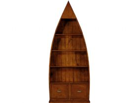 Rockwell reclaimed dinghy bookcase