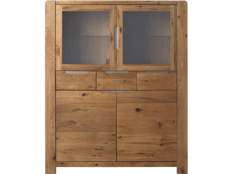 Ellie 2+2 Door, 3 Drawer Highboard