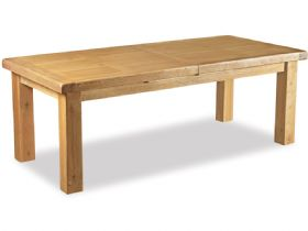 Oak 180cm Extending Dining Table