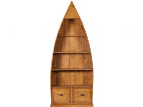 4 Shelf Dinghy Bookcase