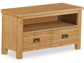 Oak Small TV Unit
