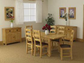 Salisbury oak dining collection