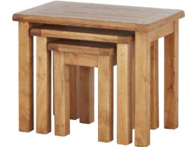 Winchester Oak Nest Of Tables