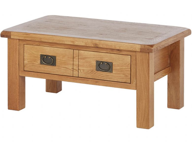 Oak Coffee Table.Winchester Oak Coffee Table With Drawer