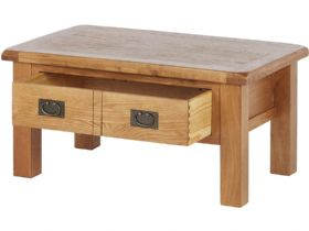 Winchester Oak Coffee Table With Drawer
