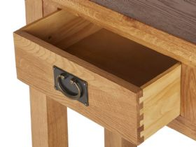 Winchester Oak Telephone Table Drawer