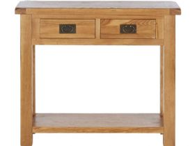 Winchester Oak Console Table