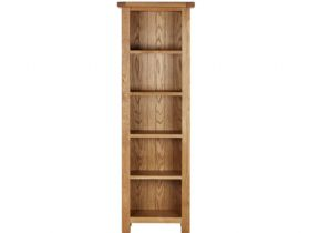 Winchester Oak Slim Deep Bookcase