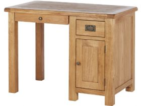 Oak Single Desk