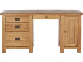 Winchester Oak Double Desk