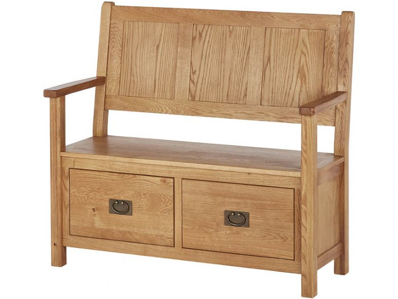 Oak Monks Bench