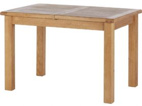 Oak Compact Extending Dining Table
