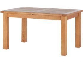 Oak Small Extending Dining Table