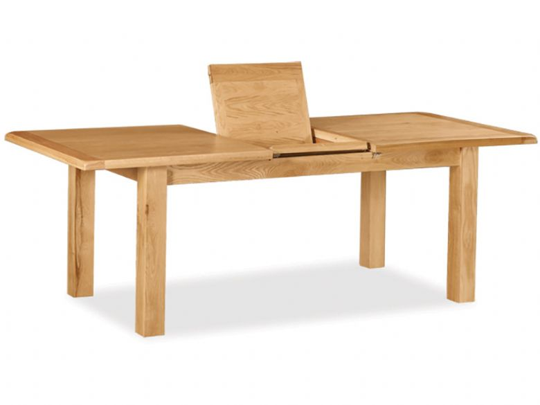 Winchester Oak Small Extending Dining Table Furniture Barn