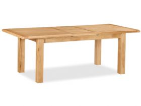 Winchester oak large table fully extended