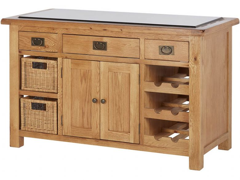 Winchester Oak Kitchen Island