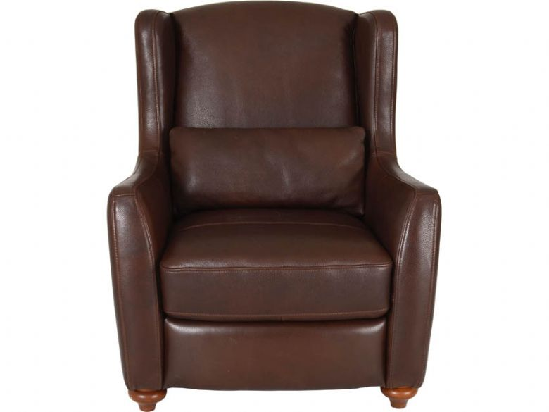 Leather High Back Chair
