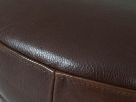 Raynor Leather Stool Detail