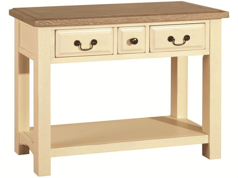 Ivory Console Table