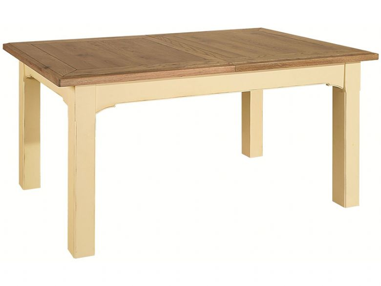 Ivory 1.2m Extending Dining Table