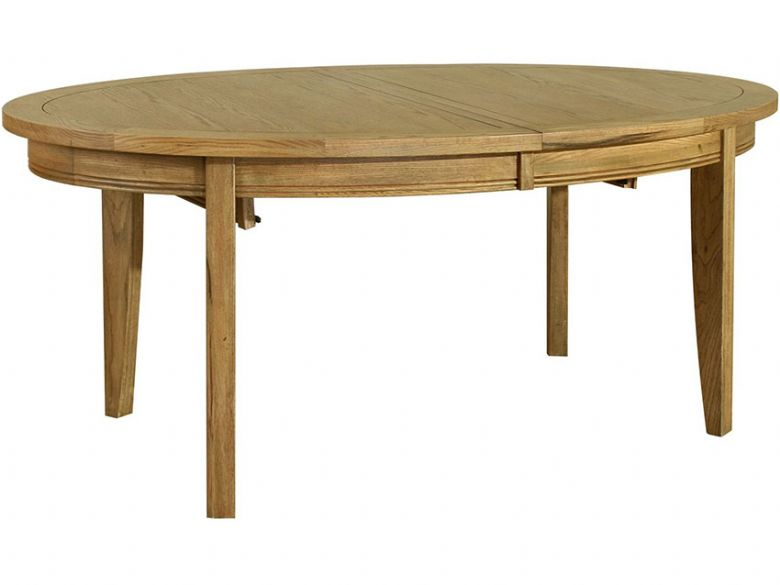 Oak 1.8m Oval Extending Dining Table