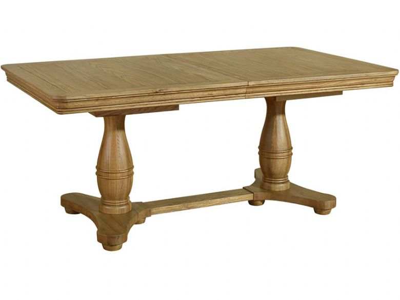 1.8m Extending Pedestal Table