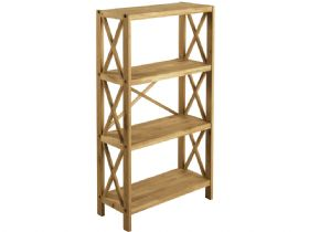 Oak 4 Shelf Unit
