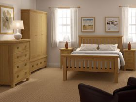 Winchester oak bedroom range