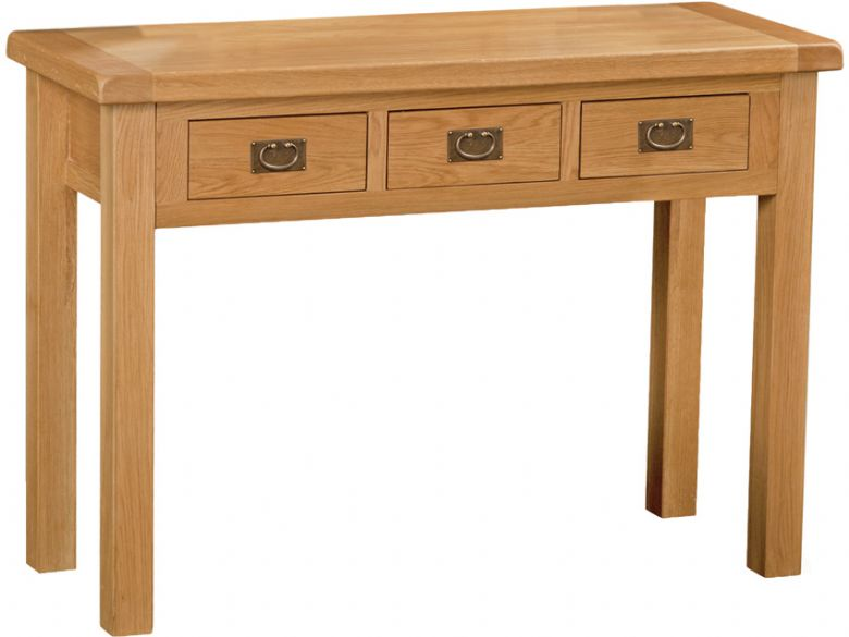Winchester Oak Wide Dressing Table