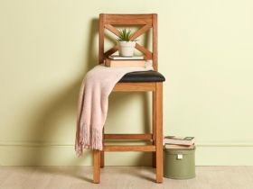 Winchester Bar Stool - Black Seat
