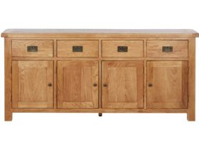 Winchester Oak Extra Large Sideboard