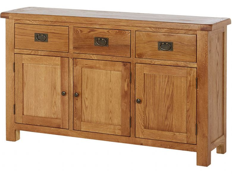 Winchester Oak Large Sideboard at Furniture Barn