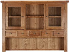 Winchester Oak Large Hutch