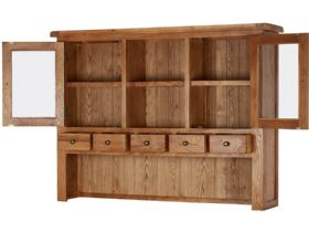 Winchester Oak Large Hutch Open