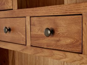 Winchester Oak Large Hutch Drawers