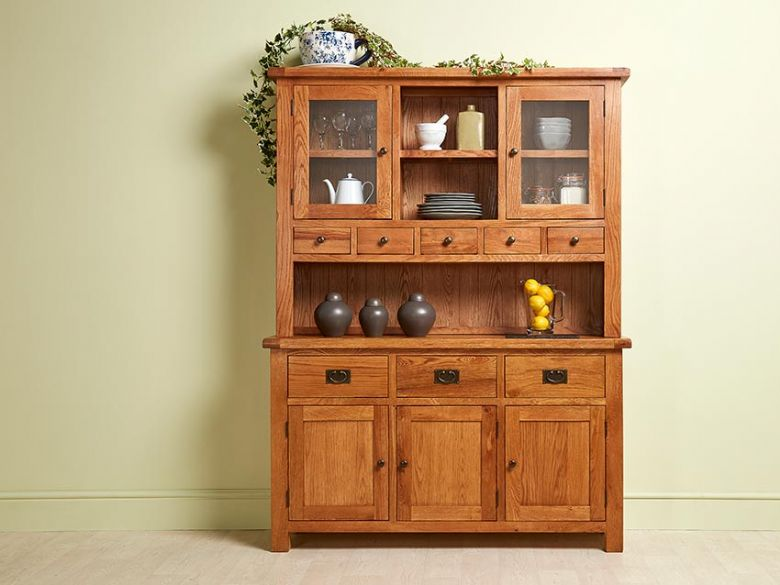 Winchester Large Hutch with Sideboard