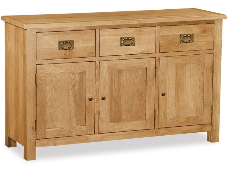 Salisbury oak large sideboard