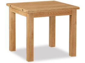 Oak Square Flip Top Table