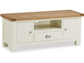Buttermilk 120cm TV Unit With Drawer