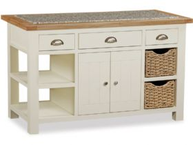 Buttermilk Kitchen Island