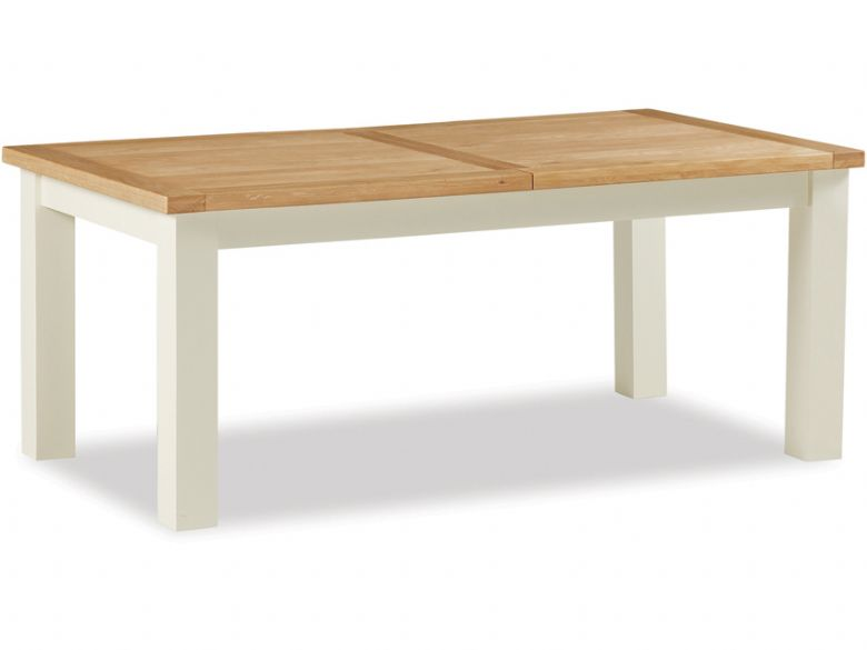 Buttermilk Large Butterfly Extending Dining Table