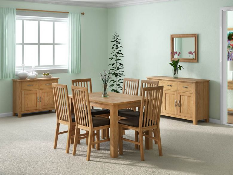 Oxford oak dining collection
