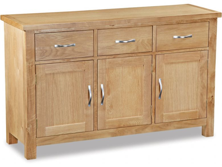 Oxford oak large sideboard