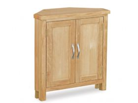 Oak Low Corner Cupboard