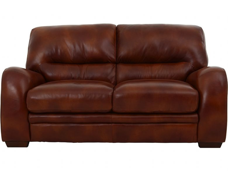 Miki 2 Seater Leather Sofa