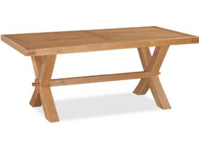 Oak Cross Dining Table