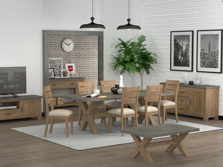 Rockhampton modern industrial dining collection