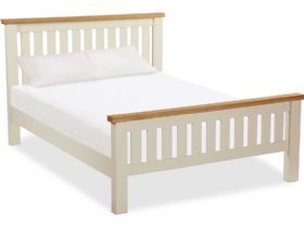 Buttermilk 4'6 Double Bed Frame